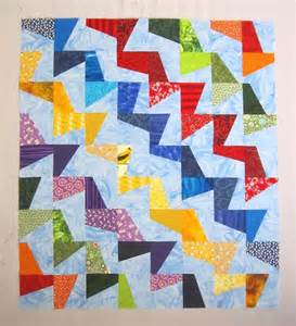 tilted modern quilt pattern by mcdowell craftsy