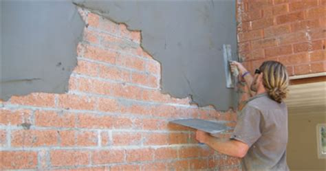render a wall diy cement render split block concrete masonry diy chatroom home improvement