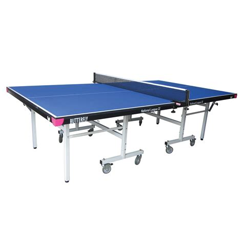 butterfly outdoor rollaway table tennis butterfly national league 22 rollaway indoor table tennis