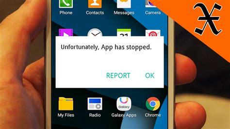 android apps crashing حل مشكلة quot للاسف توقف التطبيق unfortunately app has stopped quot الاندرويد التقنية كوم