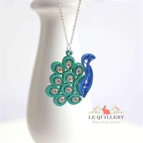 quilling ooak handmade paper quilling jewelry eco
