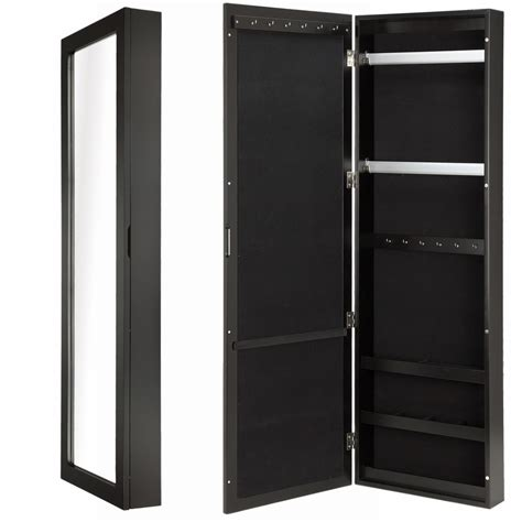 Wall Mounted Closet by Homegear Door Or Wall Mounted Accessories Mirror Closet