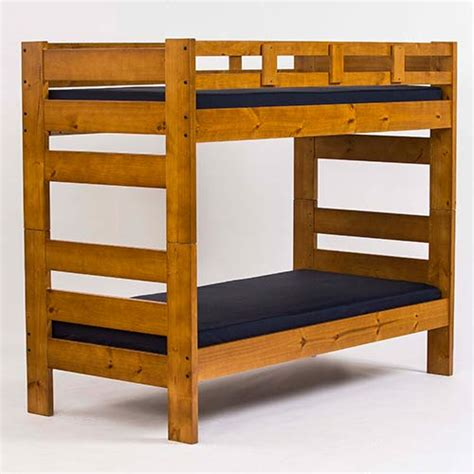 Wood Loft Beds by Wooden Bunk Beds And Furniture American Bedding