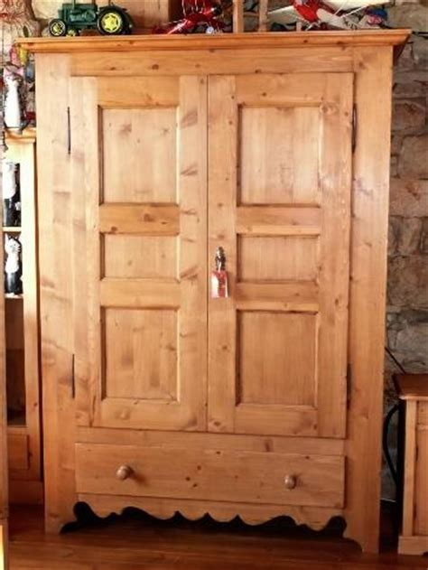 armoire bois recyclé armoire 2 portes 1 tiroir en pin cir 233 vieux bois recycl 233
