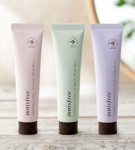 Makeup Innisfree innisfree mineral makeup base kem l 243 t trang 苣i盻ノ spf30 pa