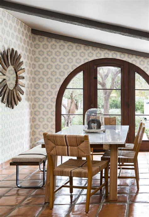 contemporary spanish mediterranean dining room los