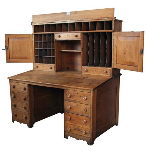 Oak Postal Desk For Sale Antiques Com Classifieds Desk For Sale