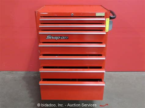 Snap On 7 Drawer Tool Box by Snap On 7 Drawer Portable Tool Cabinet Shop Equipment