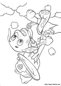 coloriages marcus paw patrol