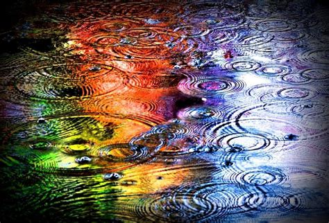 colorful water wallpaper hd rainbow water drops at free hd wallpaper scapes
