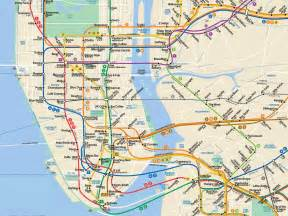 New York Subway Map With Streets by Nyc Best Coffee Shops By Subway Stop Business Insider