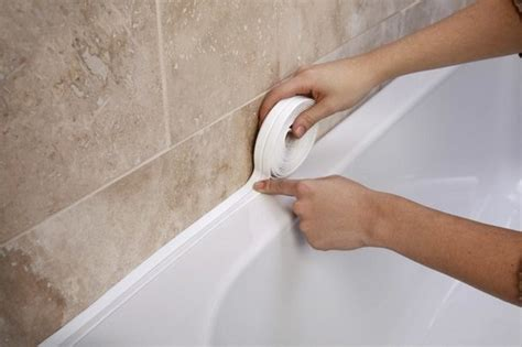 what to use to seal around bathtub sealing seam around the tub room decorating ideas home decorating ideas