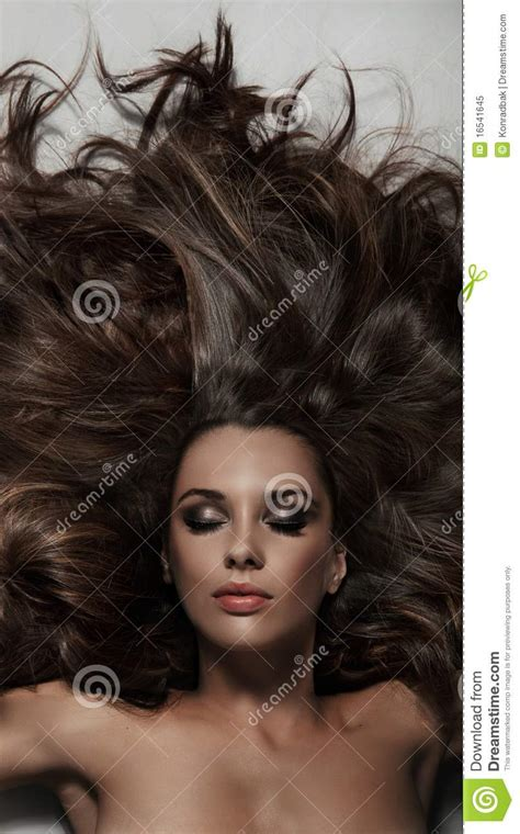 long hair stock photos royalty free images vectors long hair royalty free stock photo image 16541645