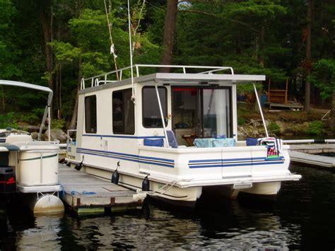 catamaran houseboat catamaran cruiser lil hobo 30 1999 for sale for 18 000