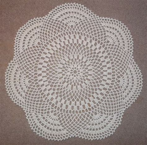 throw rug patterns inflorescence a free pattern for a crochet throw rug i think this would be a better doily