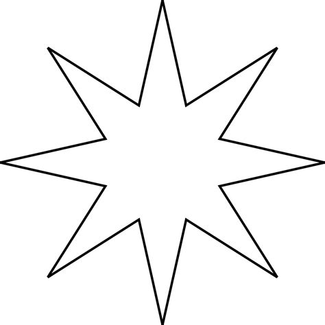 starburst template starburst template cliparts co