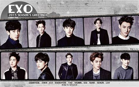 film exo season 2 wide exo 2015 season s greetings chine ver 2 by