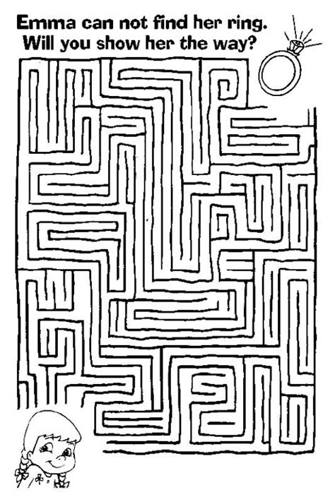 printable maze game for preschoolers 12 best labirintos images on pinterest hard mazes free