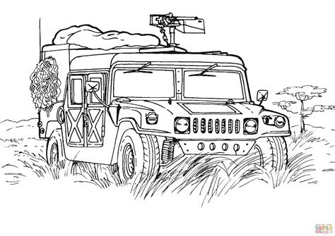 printable coloring pages army army hummer coloring page free printable coloring pages