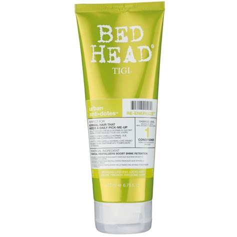 bed head urban antidotes tigi bed head urban antidotes re energize conditioner 200ml