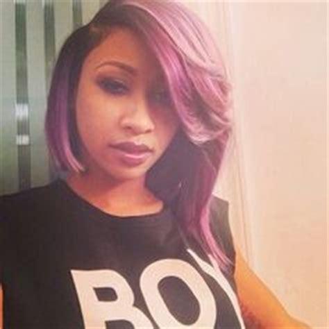 taj swv purple bob diamond on pinterest purple hair diamonds and pink hair