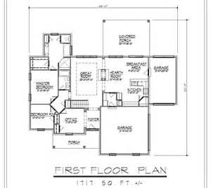 1717sf ranch house plan w garage on basement 300 00 3 car garage house plans by edesignsplans ca 7