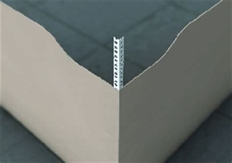 3mm white upvc angle thincoat bead 2 5m upvc