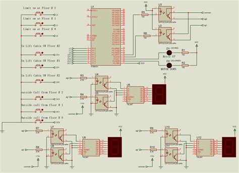how elevator works and their types with circuit diagrams