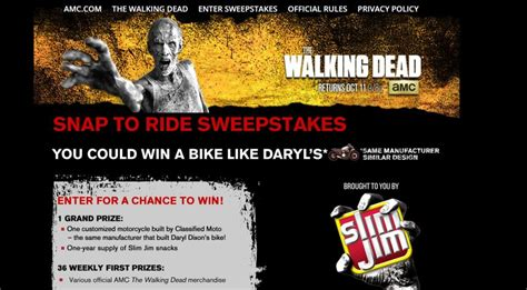 Who Won The Walking Dead Sweepstakes - win a car sweepstakes 2015 autos post