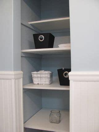 bathroom closet shelving hmm remove closet door in bathroom and use pretty