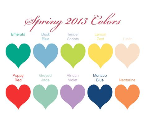 sping colors beverly dj company 2013 wedding colors