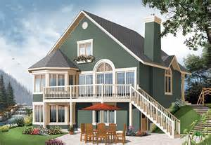 House Plans With Daylight Walkout Basement by Year Round Cottage With Options 21960dr 2nd Floor