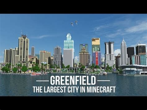 greenfield the largest city in minecraft v0.5.1 out