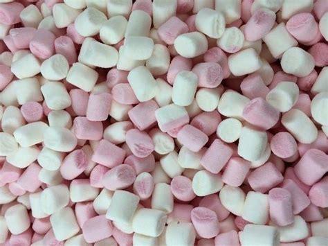 Mini Marshmallows haribo mini marshmallows foamy pink white
