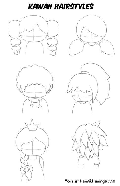 the beginner kawaii how to draw kawaii hairstyles and adapt hairstyles
