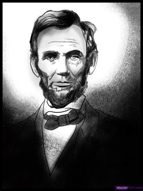 abraham lincoln how how to draw abraham lincoln step by step