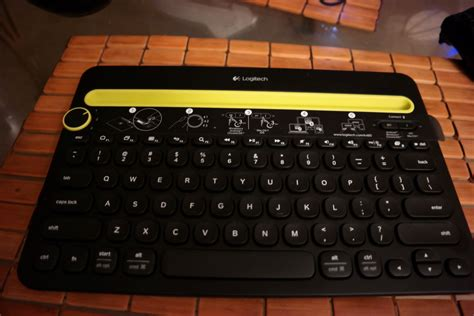 Keyboard Logitech K480 Logitech K480 Multi Device Keyboard Review G Style