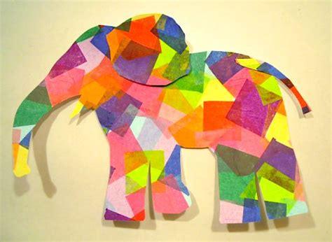 safari crafts for elmer elephant crafts