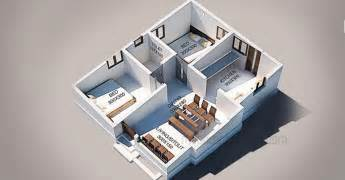 Home Design 10 Lakh by 4 Bedroom House Plans In 5 Cents Arts