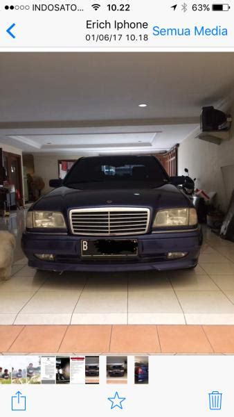 Di Jual Mercedes C200 W202 c class jual mercedes c200 w202 matic th 1996