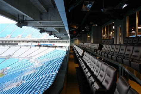 panthers club seats bank of america stadium panthers gridiron club turner