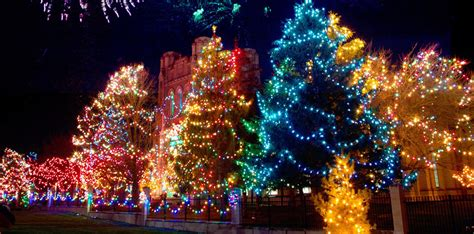 best place to see holiday lights kingston ontario top 5 places to see lights in ontario