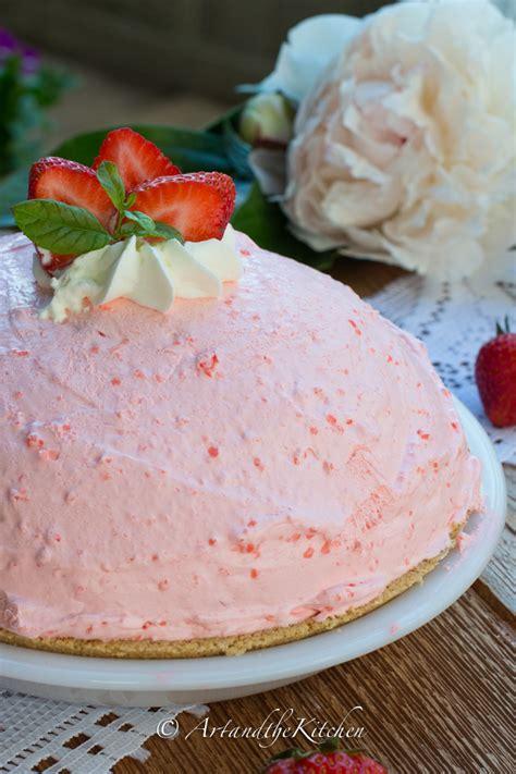 Cheesecake Cheese Cake Strawberry Pie Halal no bake strawberry cheesecake pie and the kitchen