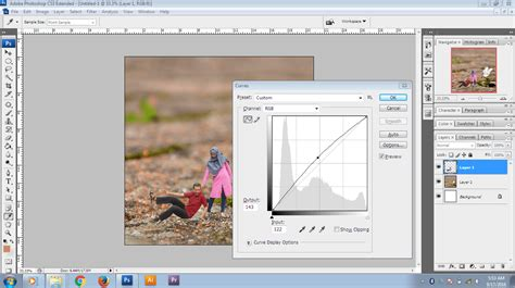 cara edit foto background photoshop cs3 cara mudah mengedit foto mini people dengan photoshop cs3