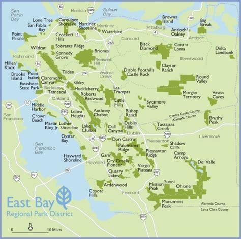 california map east bay ww seeking big new money for east bay parks oakland