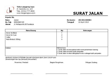 software toko penjualan dilengkapi cetak invoice surat jalan