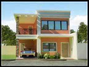 Floor Plans Narrow Lot architecture two storey house designs and floor