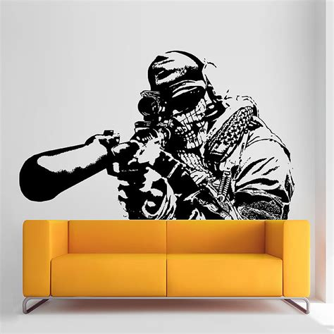 black ops bedroom decor call of duty black ops wall decals wall murals