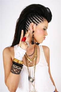 with sides and mohawk 45 fantastic braided mohawks to turn heads and rock this