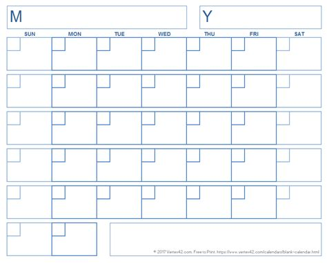 blank calendar template without dates blank calendar template free printable blank calendars
